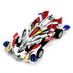 AULDEY 88010 Racing Car Kit ABS Building Brick Educational Birthday Present with Brushed Motor -