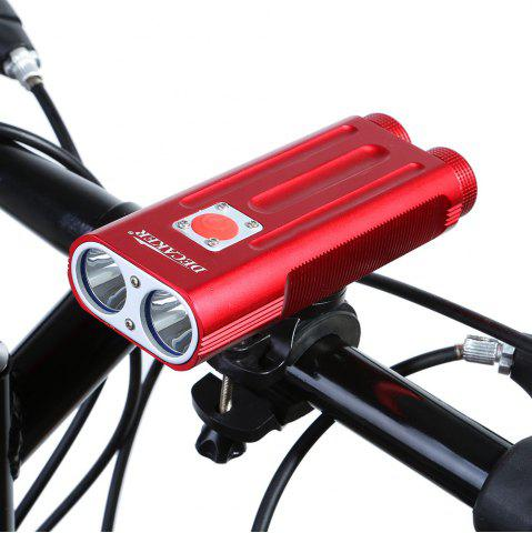 Outfits DECAKER Multi-function 1200Lm 5 Mode XML T6 LED Bicycle Light Flashlight -   Mobile