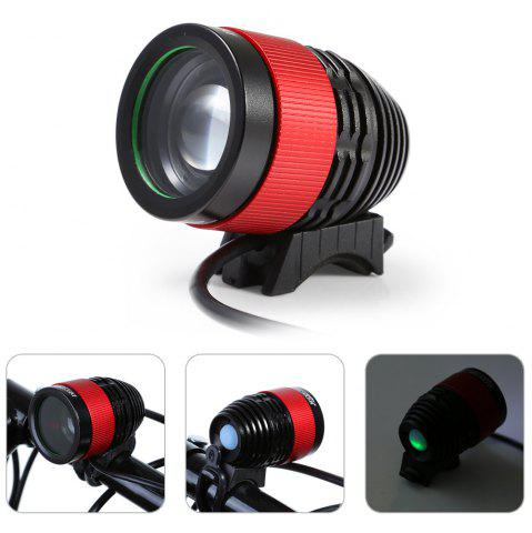 Store DECAKER 4 Modes 600Lm XML - T6 LED Bicycle Light 6W with Focusing Function -   Mobile