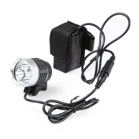 Outfits DECAKER Multi-function 15W 1200Lm 4 Mode XML T6 3 LED Bicycle Light Flashlight -   Mobile