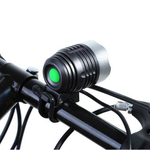 Chic DECAKER Multi-function 15W 1200Lm 4 Mode XML T6 3 LED Bicycle Light Flashlight -   Mobile