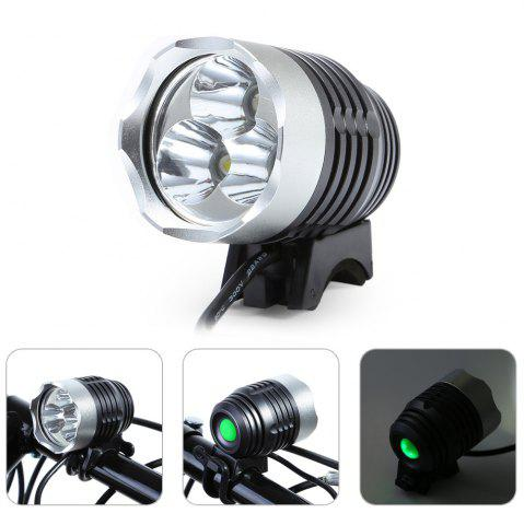Shop DECAKER Multi-function 15W 1200Lm 4 Mode XML T6 3 LED Bicycle Light Flashlight -   Mobile