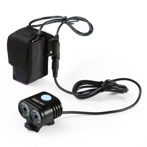 Fancy DECAKER 5 Modes 1200Lm XML - T6 2 LED 10W Bicycle Light -   Mobile