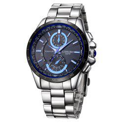 LONGBO 1035 Men Decorative Sub-dials Imported Quartz Watch