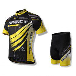 SPAKCT S15N01 / S15N03 Quick-drying Short Sleeve Cycling Suit for Men
