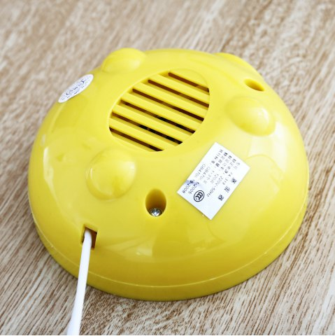 Trendy Practical Mini Electric Egg Boiler Eggs Cooker Steamer Kitchen Tool - WHITE AND YELLOW  Mobile