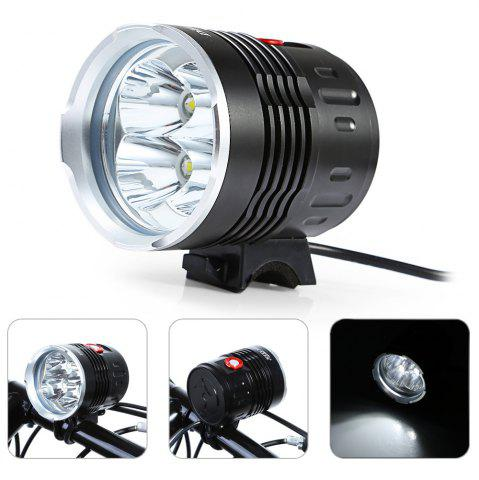 Outfit DECAKER Multi-function 2000Lm 3 Mode XML T6 4 LED Bicycle Light Flashlight -   Mobile