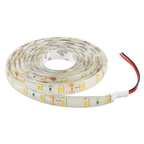 Affordable 90 x SMD5730 30W 2200Lm 150CM Waterproof LED Strip Lamp - WARM WHITE LIGHT  Mobile