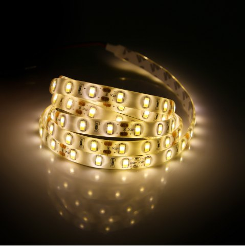 Online 90 x SMD5730 30W 2200Lm 150CM Waterproof LED Strip Lamp - WARM WHITE LIGHT  Mobile
