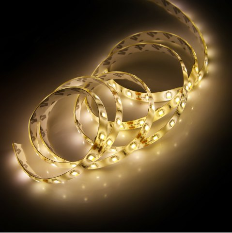 Discount 90 x SMD5730 30W 2200Lm 150CM Waterproof LED Strip Lamp - WARM WHITE LIGHT  Mobile