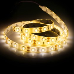 100CM 60 x SMD5730 18W 1400Lm Waterproof LED Ribbon Light - WARM WHITE LIGHT