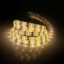 90 x SMD5730 30W 2200Lm 150CM Waterproof LED Strip Lamp - WARM WHITE LIGHT