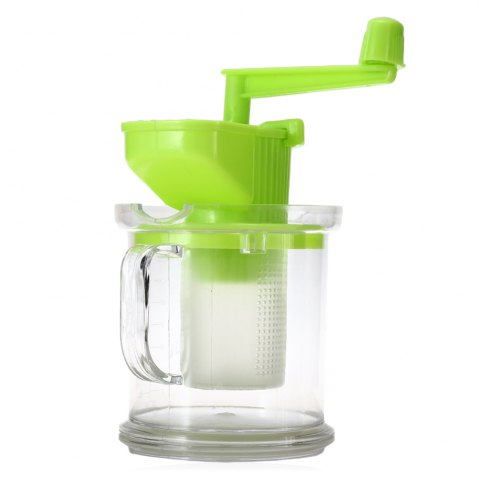 Sale Multi-purpose Hand-operated Soybean Milk Maker Fruit Juicer Extractor - GREEN  Mobile