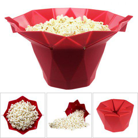Online DIY Microwave Popcorn Silicone Bowl Corn Popper Maker Tool