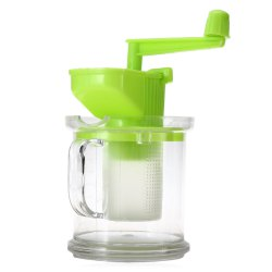 Multi-purpose Hand-operated Soybean Milk Maker Fruit Juicer Extractor - GREEN