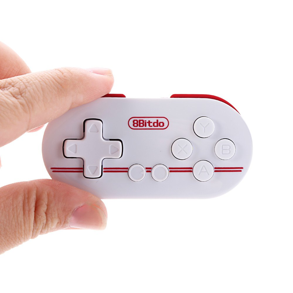 Unique 8Bitdo ZERO FC30 Multi-function Small Bluetooth Remote Controller for Android iOS OSX Windows