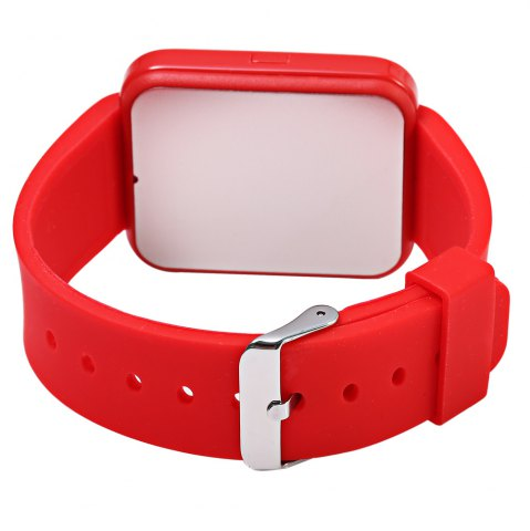 Trendy U80 Smart Watch with Pedometer Function - RED  Mobile