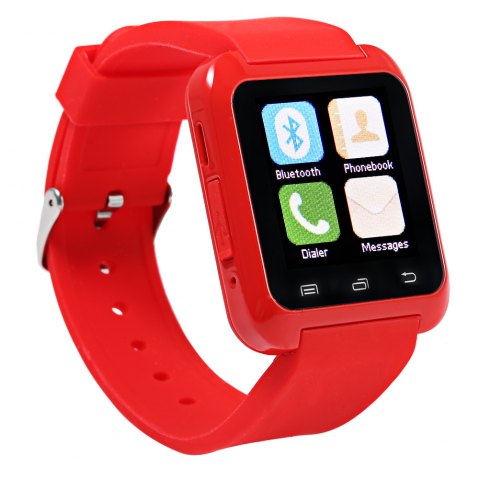 Buy U80 Smart Watch with Pedometer Function - RED  Mobile
