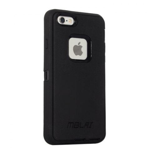 Hot MBLAI Water Resistant Full Body Protective Case for iPhone 6 Plus / 6S Plus Dustproof Anti-shock Mobile Shell - BLACK  Mobile