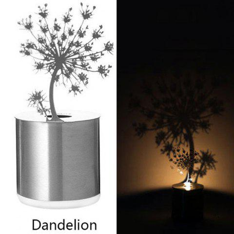 Fancy Creative Nest Shadow Projection LED Lamp Romantic Atmosphere Candle Decor Light - NEST SILVER Mobile