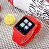 U80 Smart Watch with Pedometer Function - RED