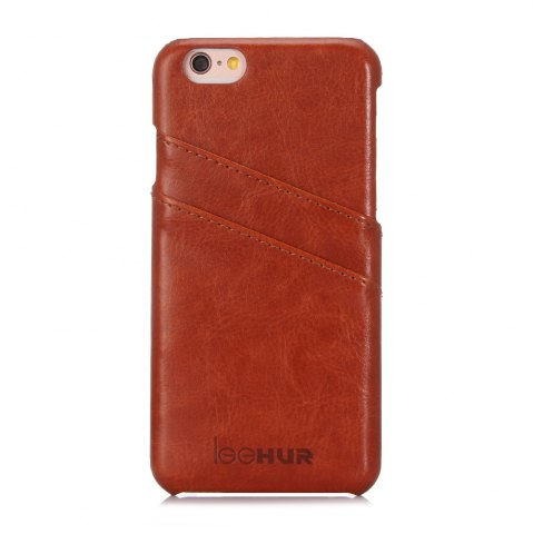 Fashion LeeHUR PU Leather Phone Cover Case with Card Slot for iPhone 6 / 6S