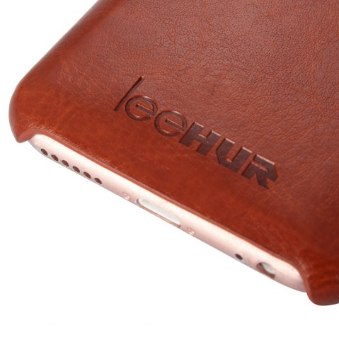 Buy LeeHUR PU Leather Phone Cover Case with Card Slot for iPhone 6 / 6S - BROWN  Mobile