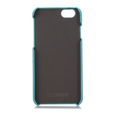 Outfits LeeHUR PU Leather Phone Cover Case with Card Slot for iPhone 6 / 6S - BLUE  Mobile