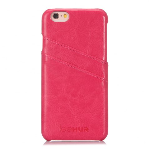 Outfits LeeHUR PU Leather Phone Cover Case with Card Slot for iPhone 6 / 6S - ROSE  Mobile