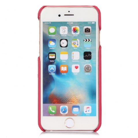 Hot LeeHUR PU Leather Phone Cover Case with Card Slot for iPhone 6 / 6S - ROSE  Mobile