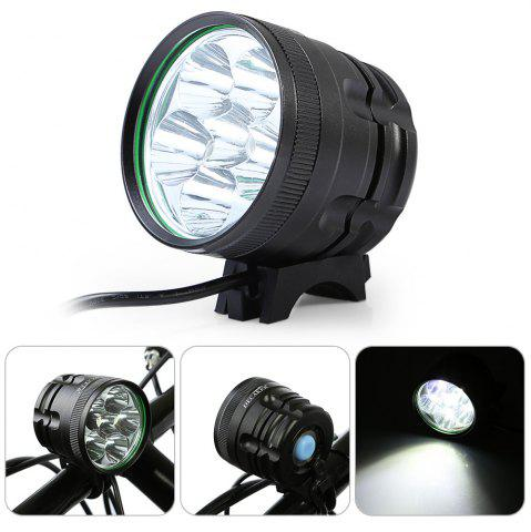 Discount DECAKER XML - T6 3000LM 6 LEDs 3 Modes Bicycle Front Light -   Mobile