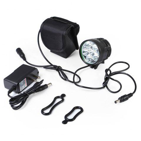 Affordable DECAKER XML - T6 3000LM 6 LEDs 3 Modes Bicycle Front Light -   Mobile