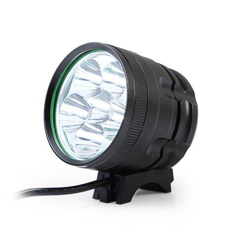Trendy DECAKER XML - T6 3000LM 6 LEDs 3 Modes Bicycle Front Light -   Mobile
