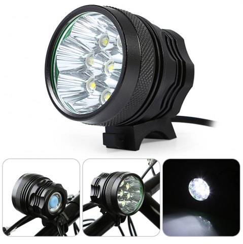 Outfits DECAKER XML - T6 4000LM 8 LEDs 3 Modes Bicycle Front Llight -   Mobile