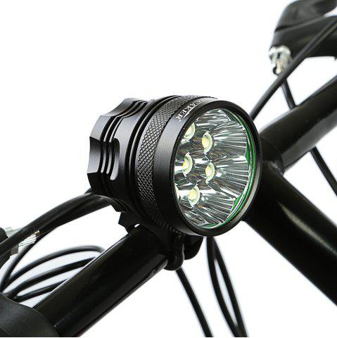 Trendy DECAKER XML - T6 4000LM 8 LEDs 3 Modes Bicycle Front Llight -   Mobile