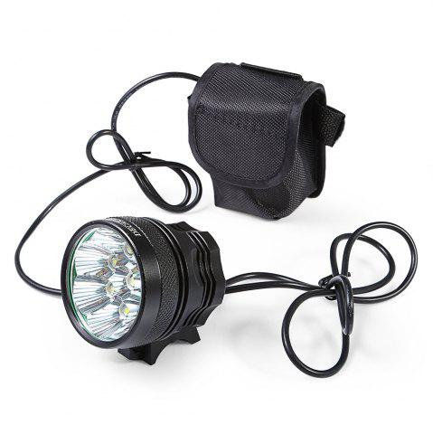 Latest DECAKER XML - T6 4000LM 8 LEDs 3 Modes Bicycle Front Llight -   Mobile