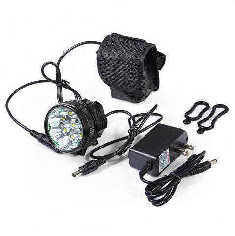 Affordable DECAKER XML - T6 4000LM 8 LEDs 3 Modes Bicycle Front Llight -   Mobile
