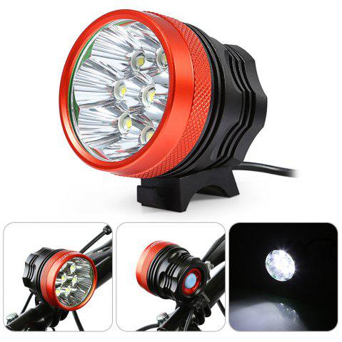 Fancy DECAKER XML - T6 4000LM 8 LEDs 3 Modes Bicycle Front Llight -   Mobile