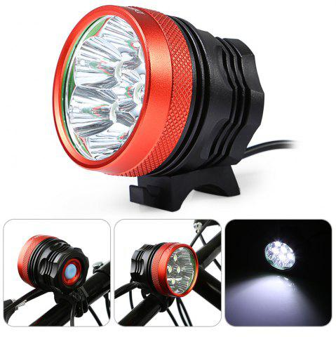 Discount DECAKER XML - T6 3500LM 7 LEDs 3 Modes Bicycle Front Light -   Mobile