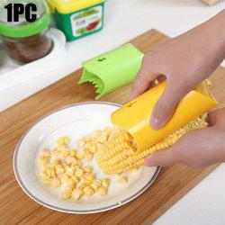 Manual Corn Peeler Kitchen Cob Stripper Remover Tool - COLORMIX