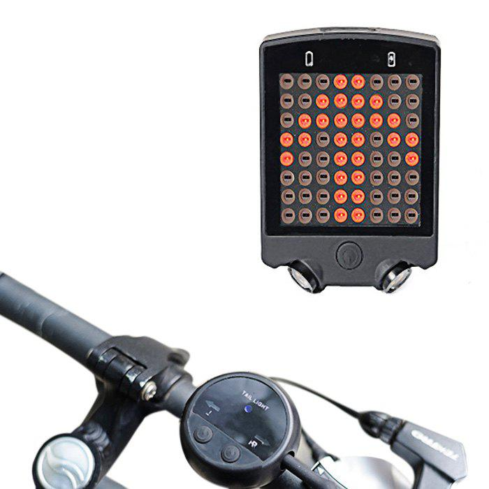 Fancy LEADBIKE A112 Wireless Remote Control USB Rechargeable Bicycle Turn Light
