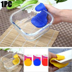 Mini Silicone Heat Insulation Gloves Table Surface Protector Pad - Colormix - S