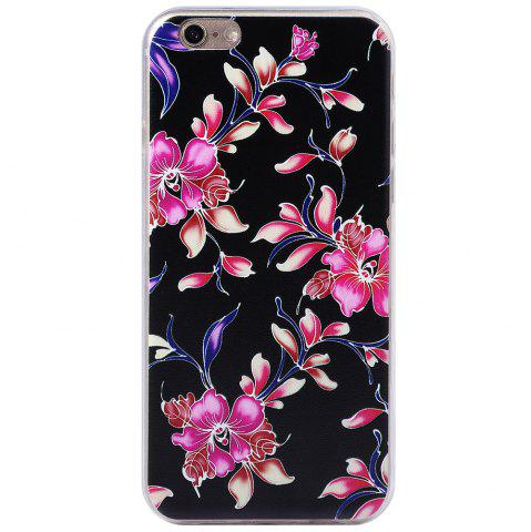 Outfit Transparent Style Protective Case for iPhone 6 / 6S Ultra-thin TPU Soft Mobile Shell with Pattern