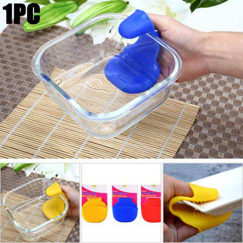 Mini Silicone Heat Insulation Gloves Table Surface Protector Pad - COLORMIX