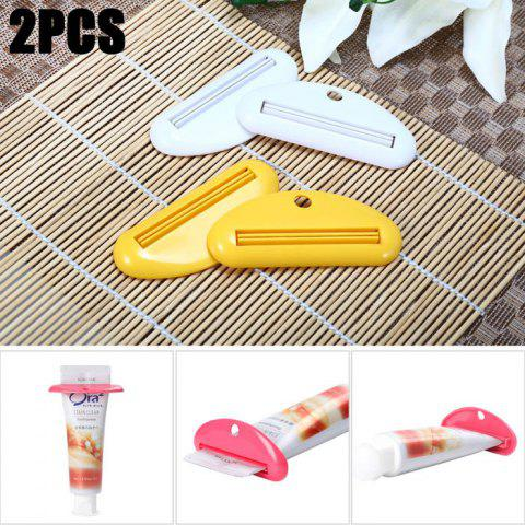 Outfit 2PCS Toothpaste Tube Squeezer Facial Cleanser Dispenser Bathroom Device