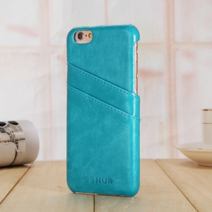 LeeHUR PU Leather Phone Cover Case with Card Slot for iPhone 6 Plus / 6S Plus -