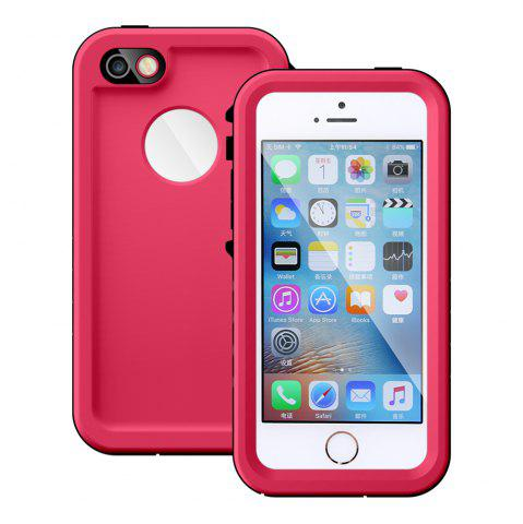 Hot Full Body IP68 Waterproof Protective Case for iPhone SE / 5S / 5 Dustproof Anti-shock Mobile Shell - ROSE  Mobile