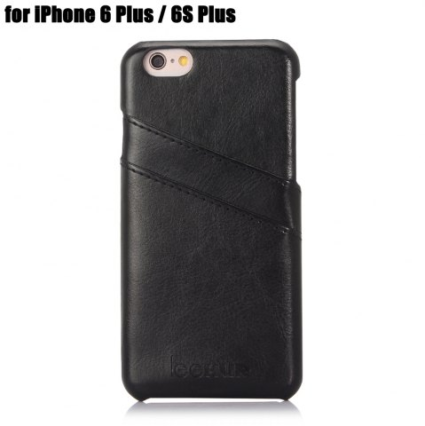 Discount LeeHUR PU Leather Phone Cover Case with Card Slot for iPhone 6 Plus / 6S Plus