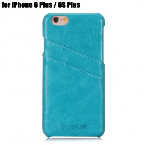 New LeeHUR PU Leather Phone Cover Case with Card Slot for iPhone 6 Plus / 6S Plus