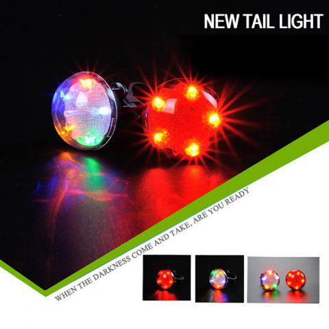 Sale LEADBIKE A105 UFO Projection Safety LED Bicycle Tail Light -   Mobile